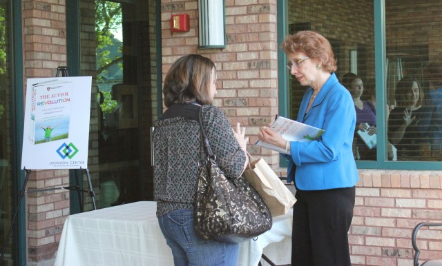 Dr. Martha Herbert book signing event - April 2012